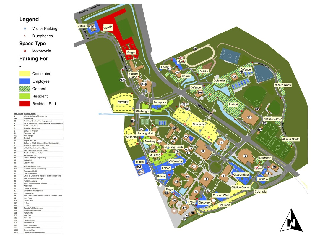 Campus Map   Welcome to ERAU!